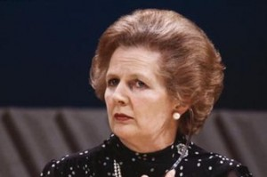 Margaret Thatcher was the only woman ever to hold the powerful position of British prime minister. She died on Monday aged 87. – image – www.mirror.co.uk