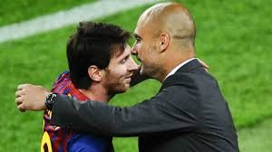 Lionel Messi will reunite with former Barca manager Pep Guardiola but for opposing teams                               Picture credit : CNN