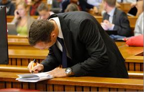 Oscar Pistorius is standing trial for the premeditated murder of his girlfriend, Reeva Steenkamp. – image – www.timeslive.co.za
