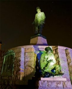The Paul Kruger Statue in Church Square, Pretoria.  Image: News24