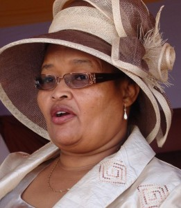 Sylvia Lukas, the only female ANC Premier
