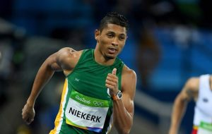 South Africa's Wayde van Niekerk won the 400m race in a record-breaking 43.03 seconds on Mondy in the 2016 Olympics in Rio. Image: Timeslive.