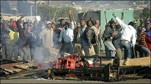 Xenophobic attacks in South Africa pic: sokwanele.com