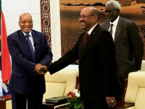 President Jacob Zuma and Sudanese President Omar-al-Bashir are negotiating bilateral agreement. Africa In Transition