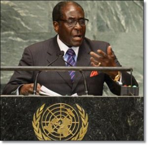 The Zimbabwean President rejected the administration for gay rights in Zimbabwe Image:africanexecutive