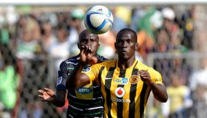 during the Absa Premiership match between Bloemfontein Celtic FC and Kaizer Chiefs FC at the Free State Stadium  on 16 August 2015. ©Gerhard Steenkamp/BackpagePix