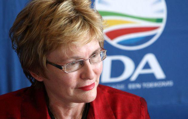 Western Cape premier Helen Zille made unsavoury statements about overweight ANC member. - image – www.timeslive.co.za