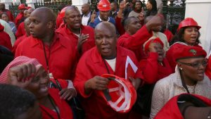 Malema and his EFF were thrown out of parliament on Thursday.  Image: VOANews