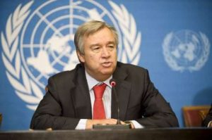 UN Refugee Chief, Antonio Guterres who says the world must prepare for the emerging crisi in Burundi.  Image: UNHCR