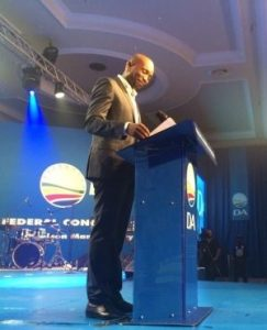 Mmusi Maimane, the first black leader of the Democratic Alliance. Image: News24