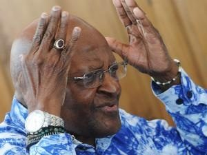 Archbishop Desmond Tutu has laid charges against granddaughter for malicious damage to property.  Image:IOL
