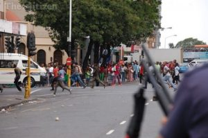 Police in KZN have arrested five people for public violence.  Image: The Citizen