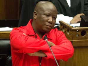 The EFF leader refused to withdraw his insults to the Deputy President Cyril Ramaphosa Image:www.2oceansvibe.com