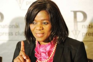 Madonsela - Cool as Ever and Unruffled by Ruling Party Jibes.  Image: The New Age