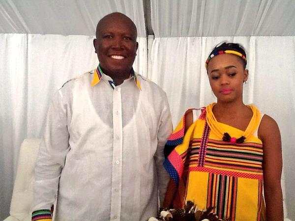 Problems at Malema Wedding? | The Public News Hub