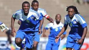 Football  - 2013 Nedbank Cup - Maluti FET College v Orlando Pirates - Charles Mopeli Stadium - QwaQwa