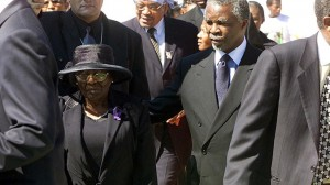 Thabo Mbeki with is mother in happier times. Photo: Mail and Guardian