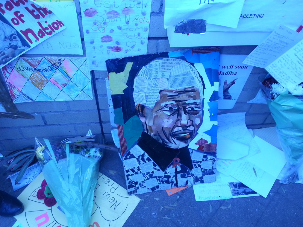Art inspired by Nelson Mandela. – image – The Public News Hub