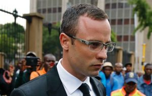 Oscar leaving court after his trial. Image: Timeslive.