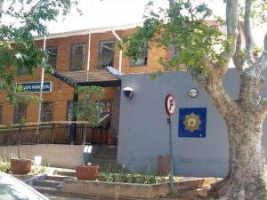 Parkview Police Station, where the double shooting took place. Image: Cape Talk.