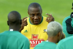 Bafana Coach, Shakes Mashaba not mincing his words. Image: Soccer Laduma.
