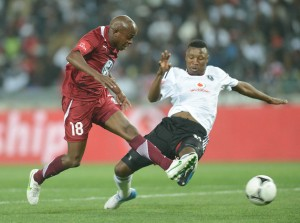Footabll - Absa Premiership 2012/13 - Orlando Pirates v Moroka Swallows - Orlando Stadium
