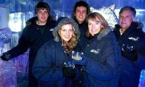 The van Breda family. Three of the five members were hacked to death while sixteen year old Marli is fighting for her life in hospital.  Image: The Guardian.