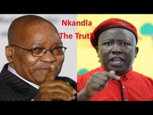 Zuma and Malema. Could we be seeing a return to the good old days? Image: You Tube.