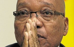 Zuma in trouble for his Jan van Riebeeck statement. Image: Timeslive.